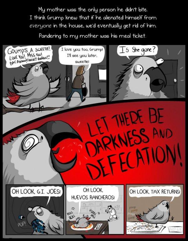 The Undead Parrot