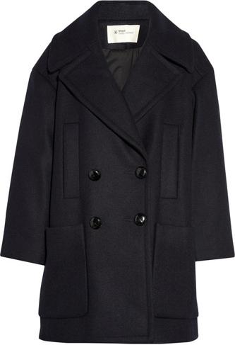 Etoile Isabel Marant Azuli Oversized Wool-Blend Coat