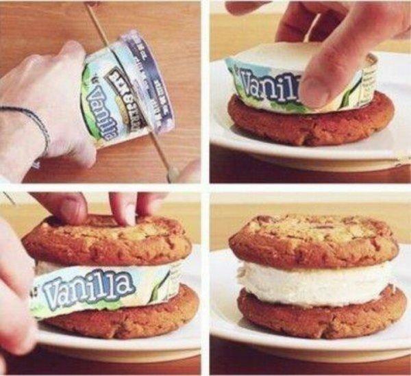 Super Quick & Easy Ice Cream Sandwiches