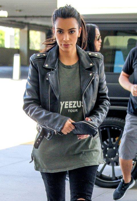 Yeezus,clothing,jacket,leather,leather jacket,