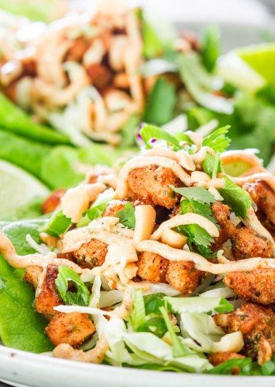 dish, food, salad, caesar salad, spinach salad,