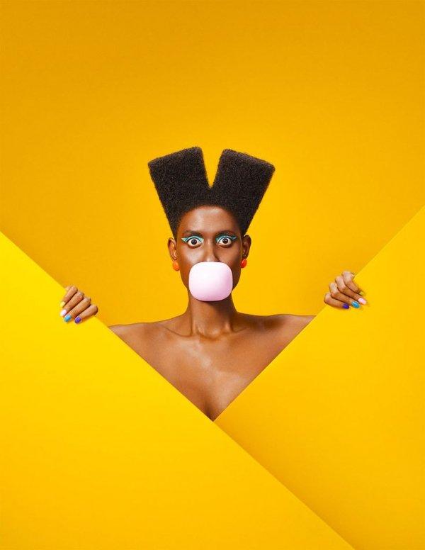 Yellow, Head, Illustration, Art,