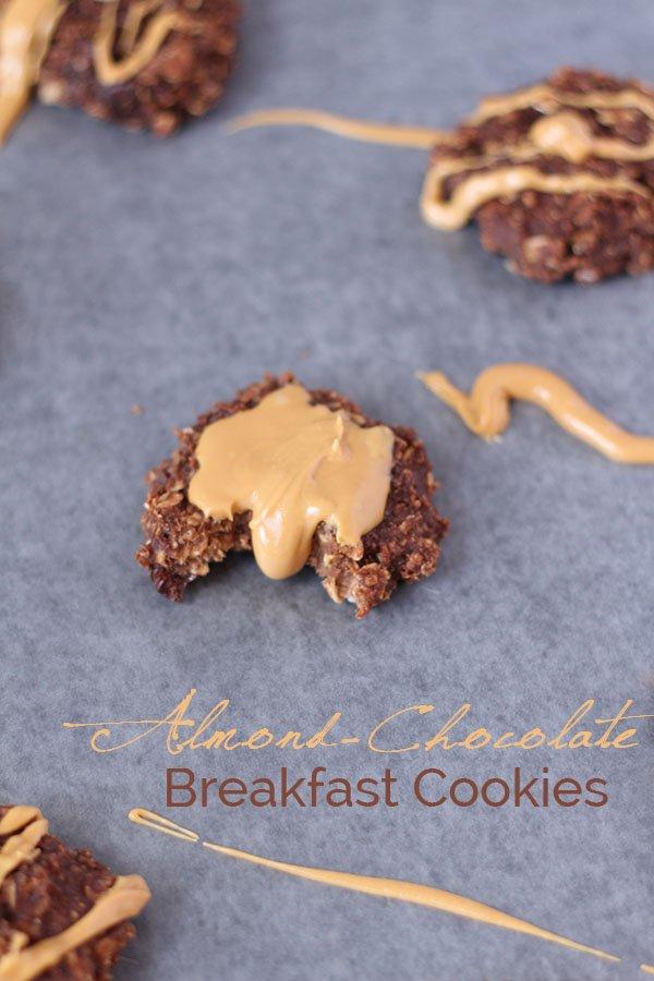 Almond Chocolate Breakfast Cookies