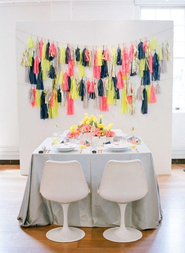 Colorful Tassles