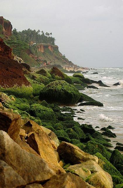 Cliffs, Varkala
