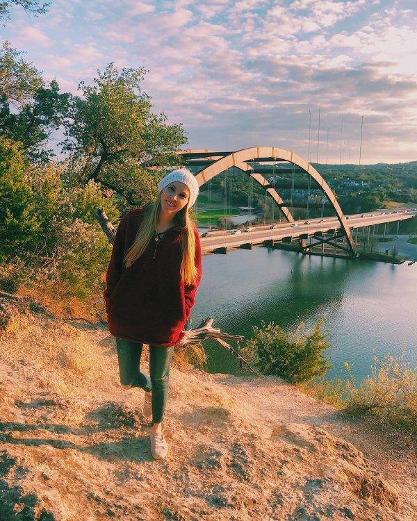 Water, Bridge, Beauty, Sky, Tree,