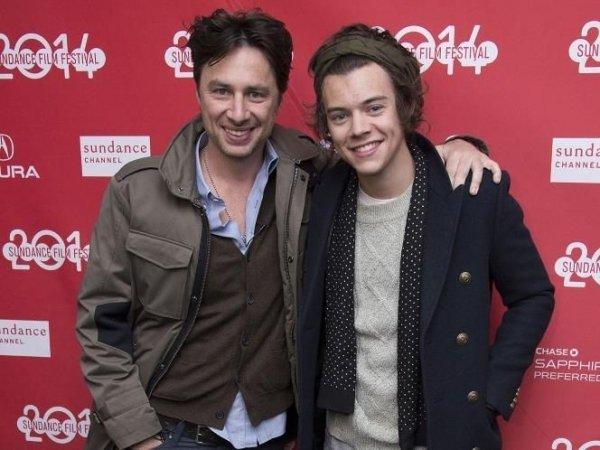 Zach Braff & Harry Styles