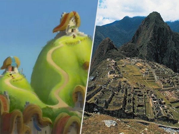 MACHU PICCHU, PERU: the EMPEROR'S NEW GROOVE