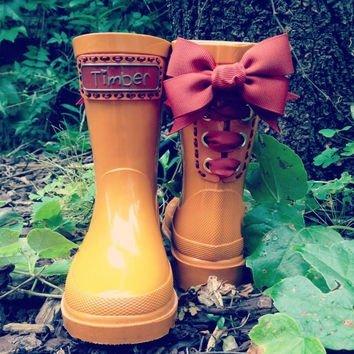 Timber & Tamber Rain Boots