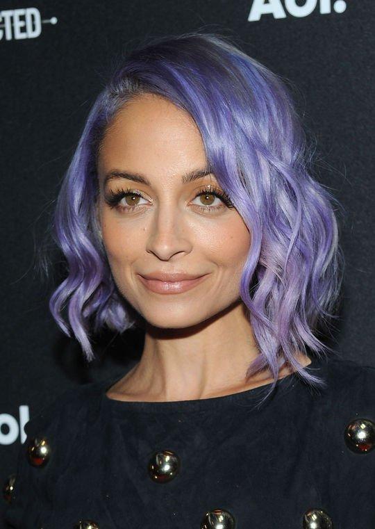 Nicole's Purple Hair