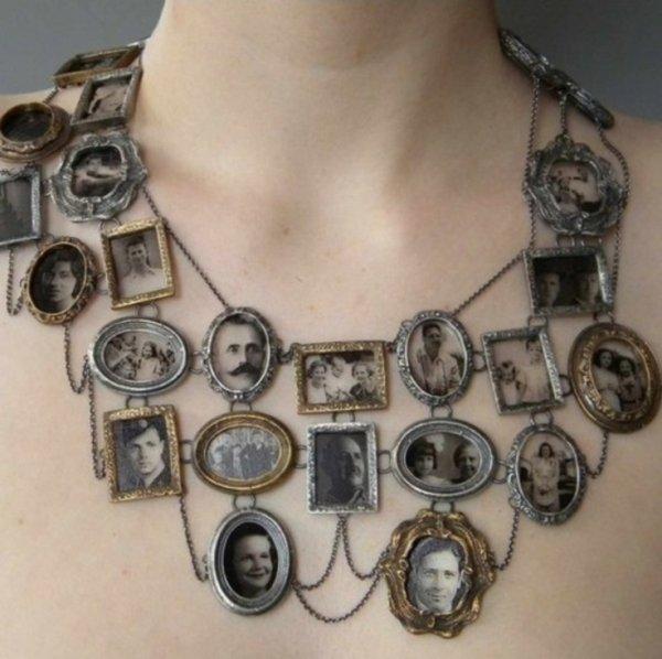 Genealogical Tree Necklace