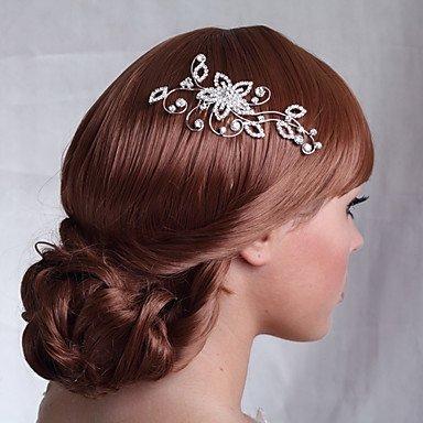 Wedding Silver Alloy Hair Comb