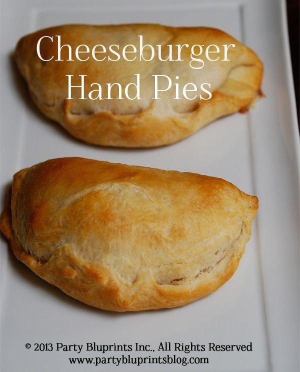Cheeseburger Hand Pies