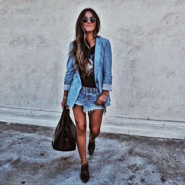 clothing, blue, denim, footwear, spring,