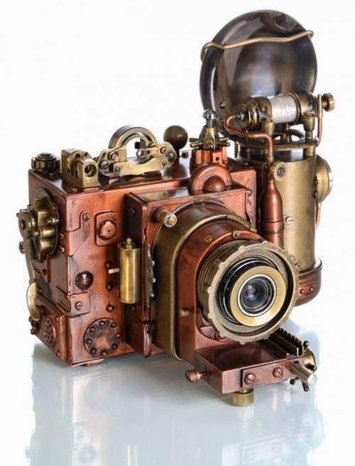 Steampunk Camera