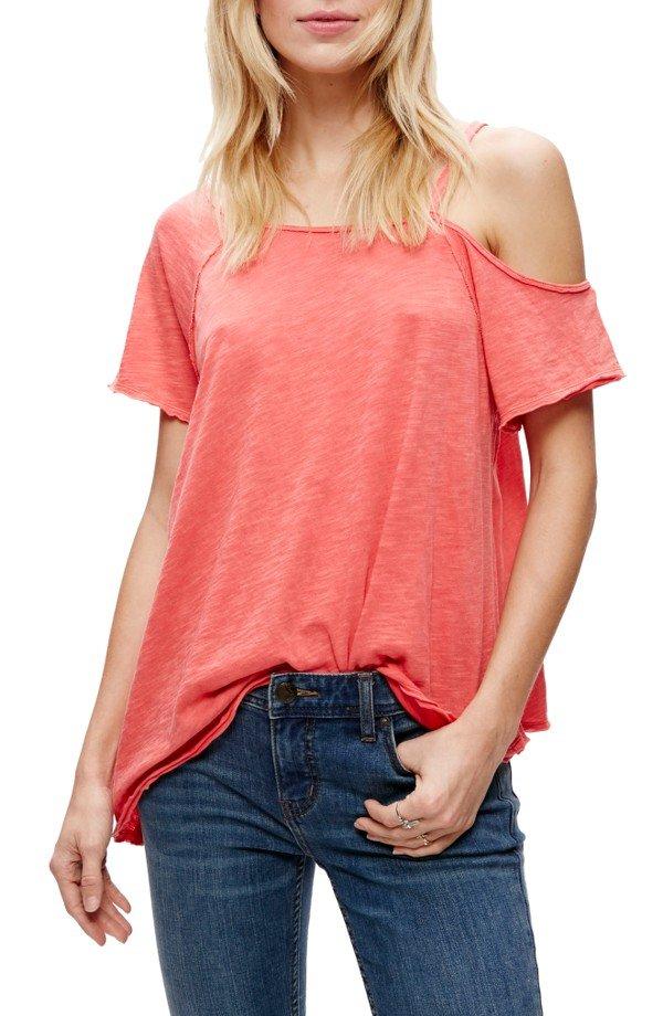 clothing, sleeve, pink, t shirt, pocket,