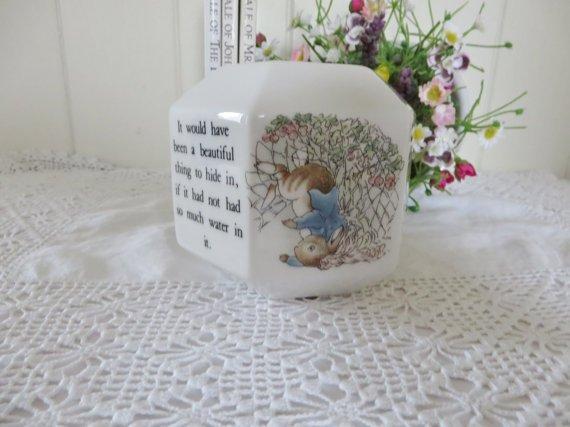 Beatrix Potter Vintage 1990's Peter Rabbit Money Box