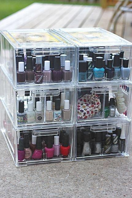 Nail Polish Storage Cubes