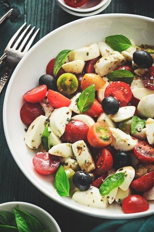 food, salad, dish, produce, vegetable,