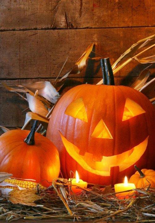 Of Her Pumpkin Carving