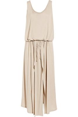 Stella McCartney Thigh-Split Jersey Tank Dress