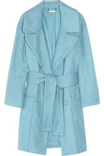 Diane Von Furstenberg Harrington Brushed Coat
