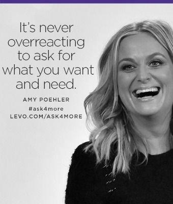 It's Never Overreacting...