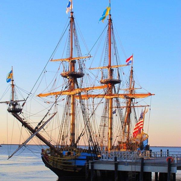Ride the Kalmar Nyckel in Wilmington, Delaware, USA