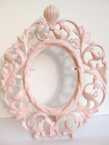 Vintage Pink French Frame