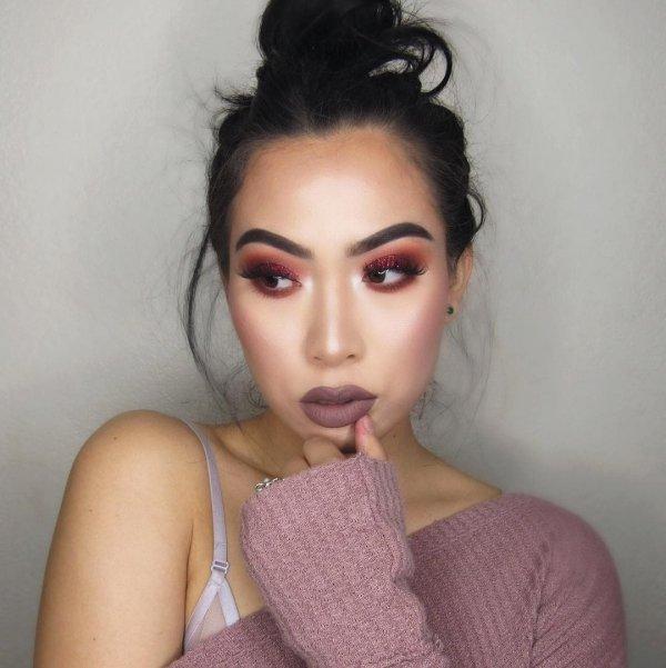 hair, face, eyebrow, nose, pink,