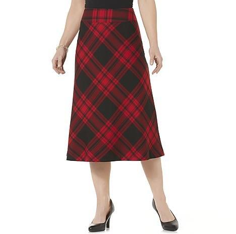 Laura Scott Women's a-Line Midi Skirt