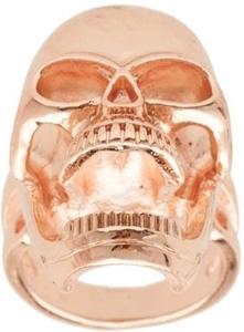ASOS Statement Metal Skull Ring