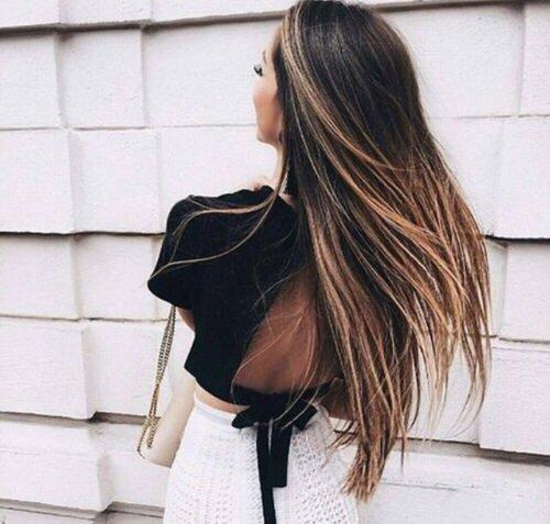 clothing, hair, hairstyle, black hair, long hair,