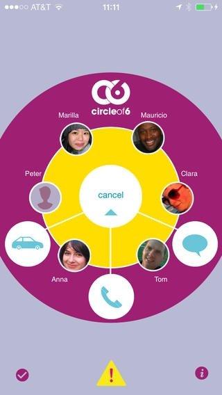 Circle of Six