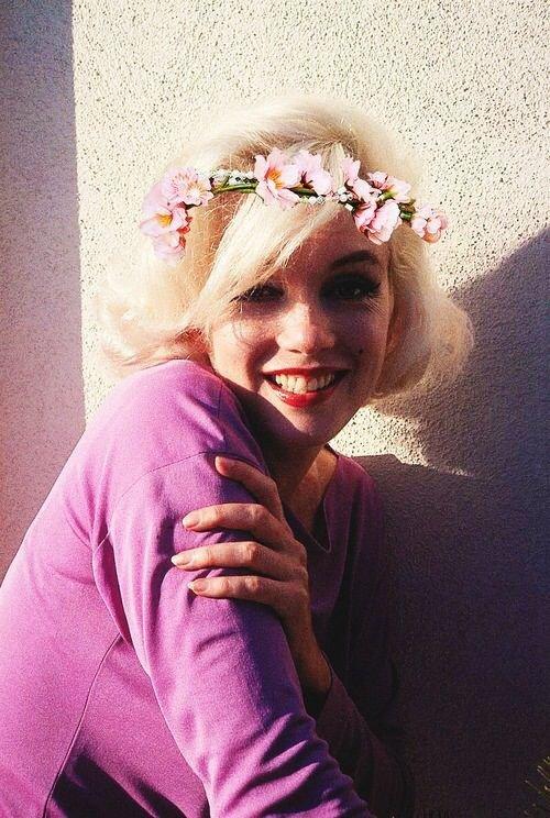 Marilyn Monroe in Pink