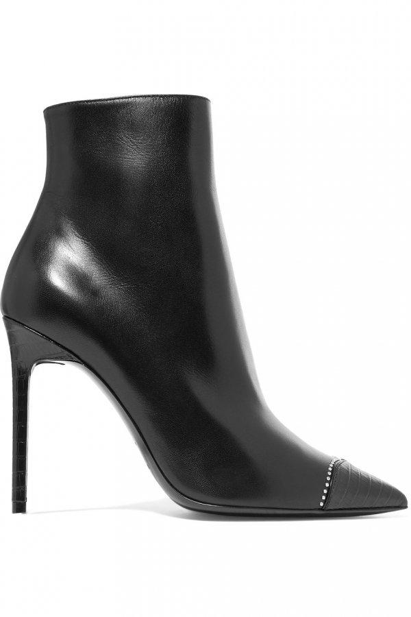 footwear, black, boot, high heeled footwear, shoe,