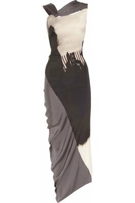 Zero+ MariaCornejo Pia Digital Print Stretch-Silk Dress