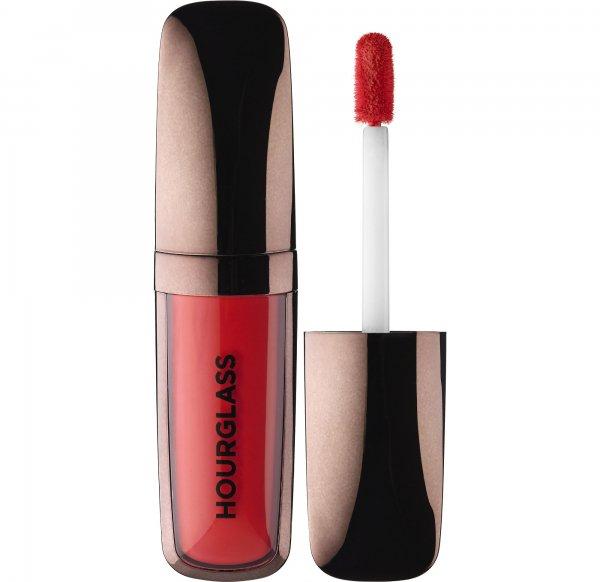 Hourglass Opaque Rouge Liquid Lipstick in Raven