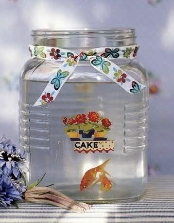 Glass Jar Fish Tank