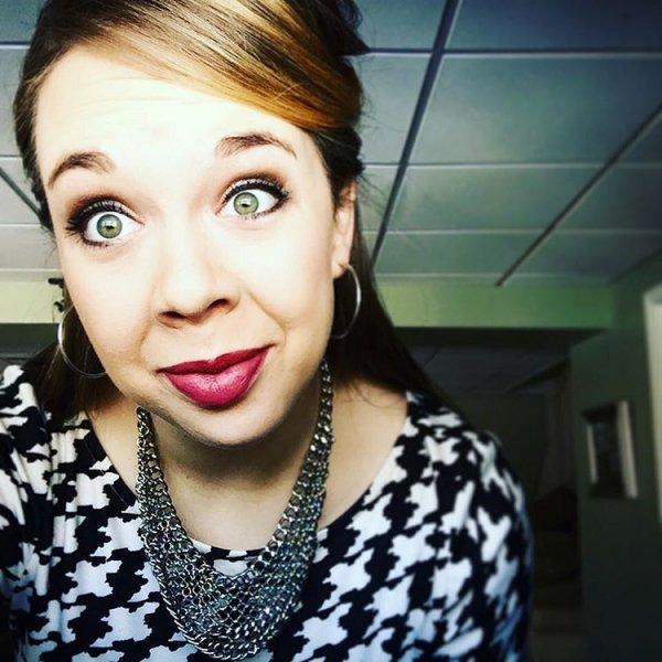 Hannah's Berry Lip & Bright Eyes!