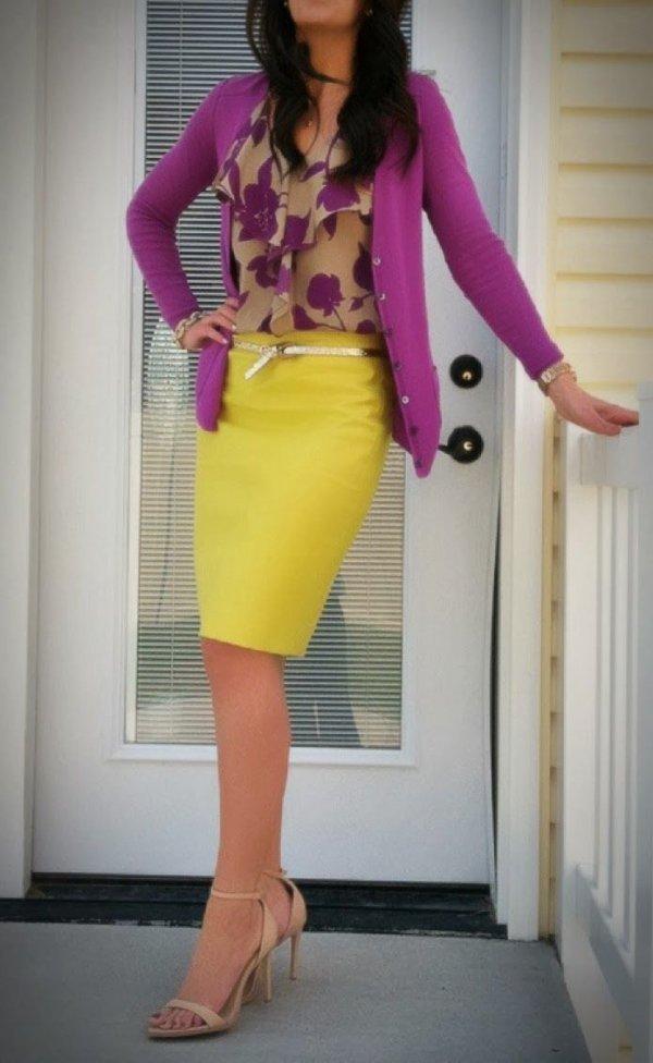 clothing,yellow,pink,dress,thigh,