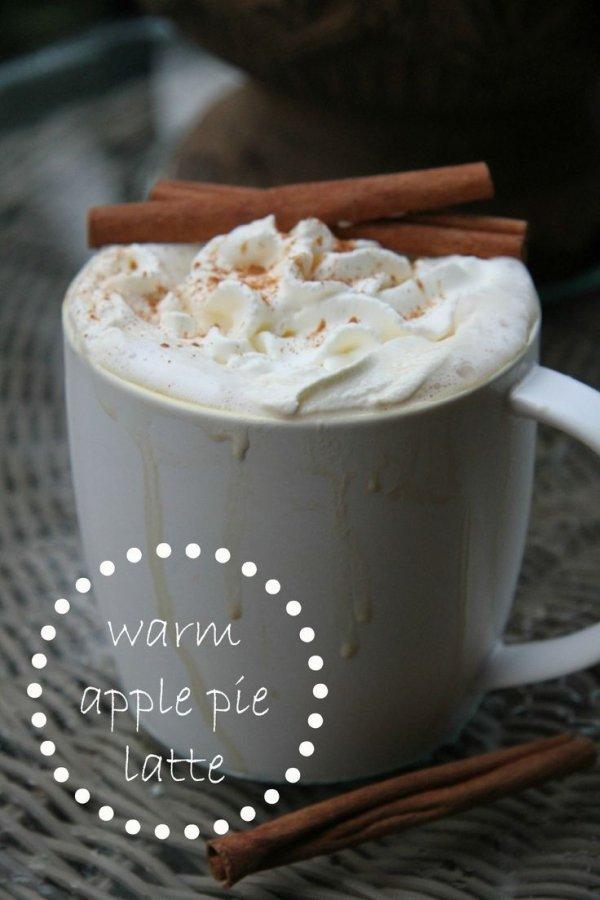 Warm Apple Pie Latte