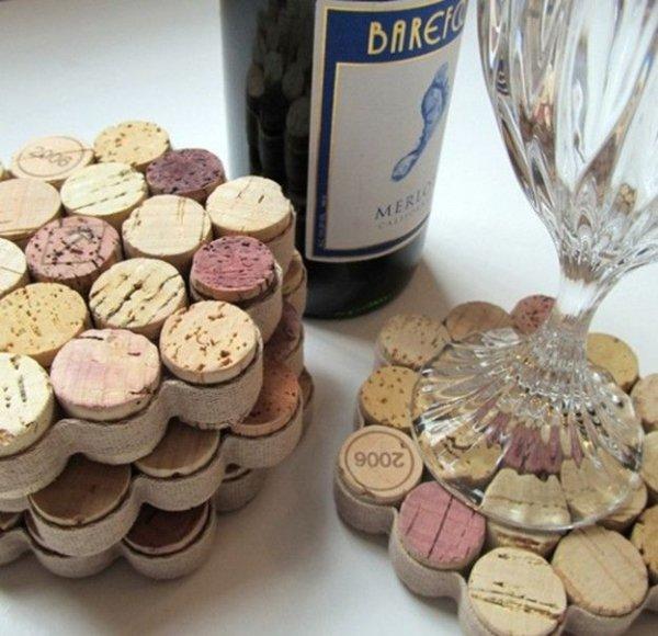 Honey Comb Wine Drink Coasters