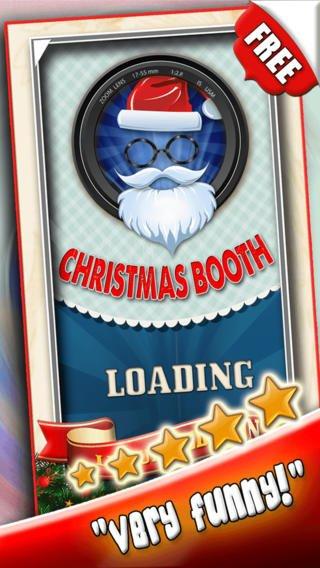 Santa Claus Yourself Xmas Photo Booth