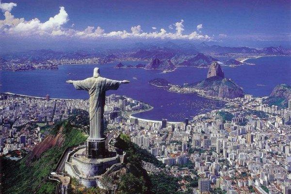 Stare at Christ the Redeemer Statue in Rio De Janeiro in Brazil