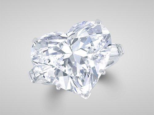 Graff Twenty-Two Carat Heart-Shaped Ring