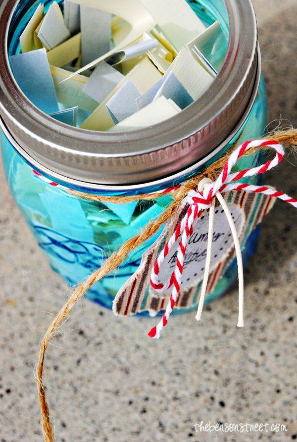 Make a Rainy Day Activity Jar!