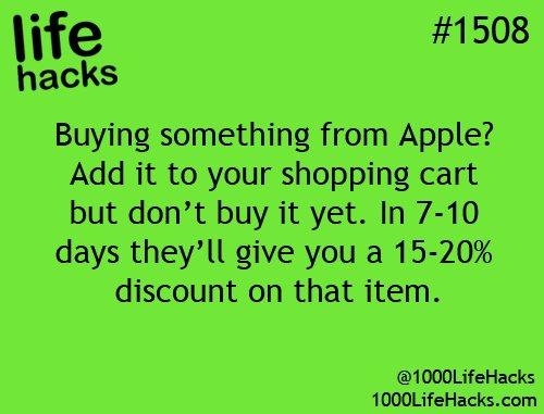 Apple Hacks!