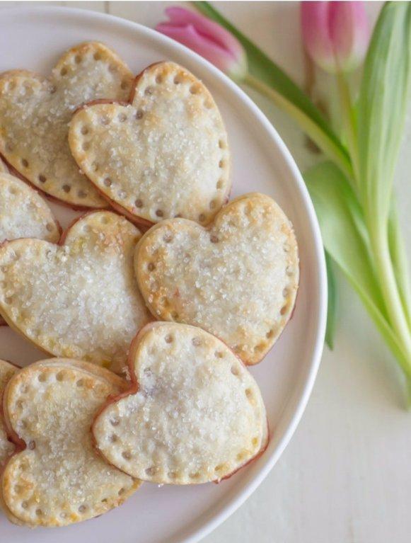 Mini Heart Shaped Hand Pies