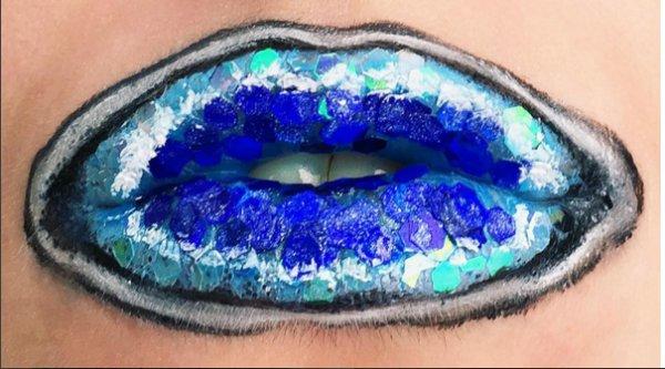 face, blue, eye, lip, head,